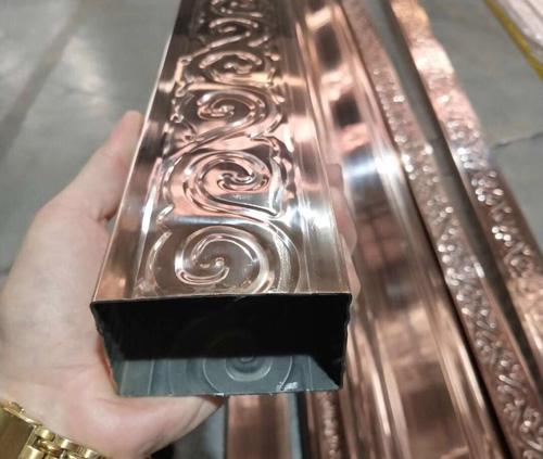 欧式不锈钢管材