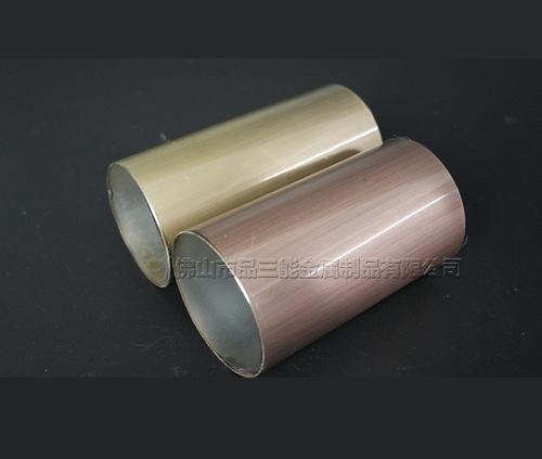 黑钛不锈钢圆管
