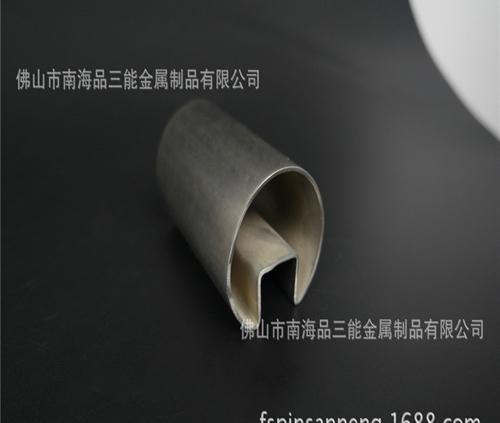 304不锈钢凹槽管