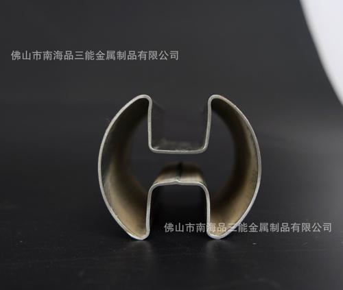 不锈钢双圆凹槽管