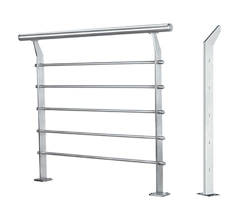 不锈钢拉丝栏杆