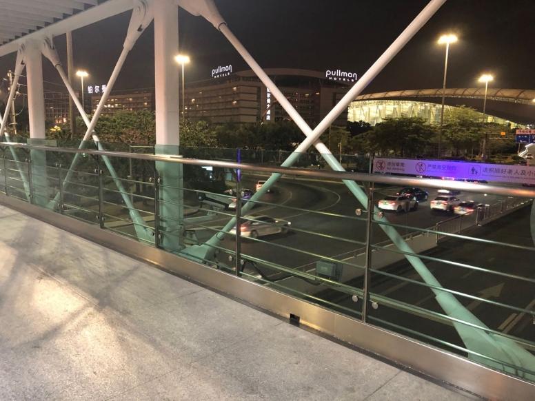 立交桥不锈钢管防护栏