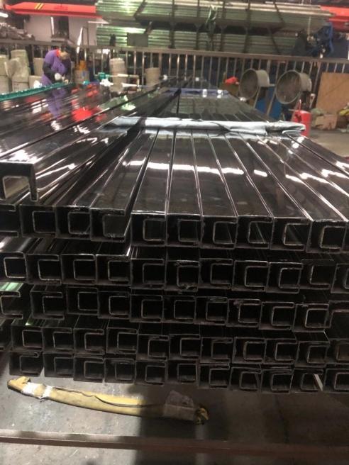 深圳不锈钢方槽管