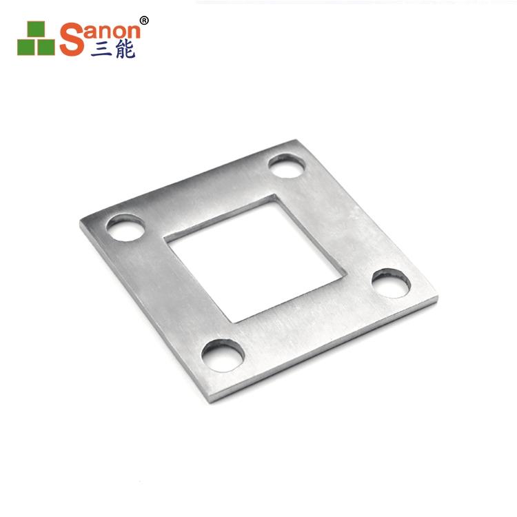 厂家生产不锈钢非标垫片地脚板接地片金属冲压件