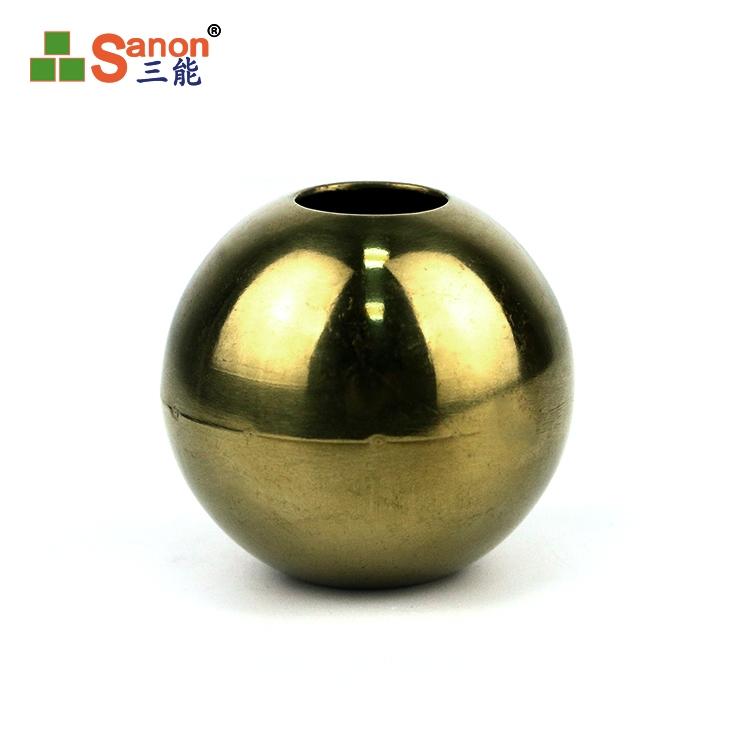 空心球金色圆球不锈钢1.2mm加厚不锈钢圆球镜面装饰球金属球